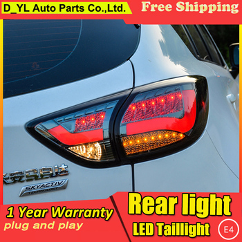 Car Styling Tail Lamp for mazda cx-5 Tail Lights 2013-2016 For cx-5 LED Rear Light Tail Lamp DRL+Brake+Park+Signal Stop light