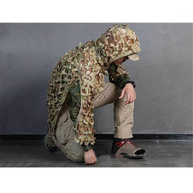 Sniper Ghillie costumes Camouflage assaut Multicam pour la chasse vêtements Sniper costume Camouflage vêtements livraison gratuite - 6