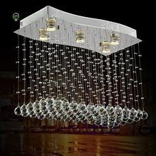 Modern Luster Crystal Pendant Lights Living Room Pendant Lamp Restaurant Nordic Led Lighting Fixture Indoor Decor Luminaria все цены