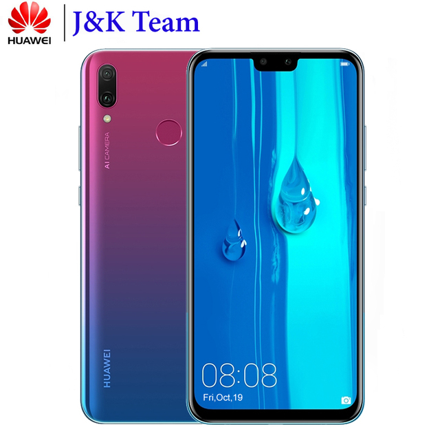 Huawei Y9 2019 Enjoy 9 Plus Dual SIM 4000mAh Battery Smartphone 6.5 inch Hisilicon Kirin 710 Octa Core 16MP 4*Camera