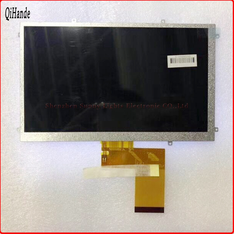 где купить New LCD Display FPC3-WV70021AV0 H-B07021FPC-71 KR070PE7T for Freelander PD10 PD20 3G for GoClever Tab T76GPS TV LCD screen panel дешево