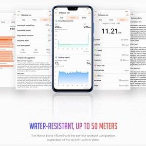 Image 3 - Originale Huawei Honor Fascia 4 Corsa E Jogging Versione Intelligente Wristband Scarpe Fibbia Land Impatto Sonno Snap Monitor