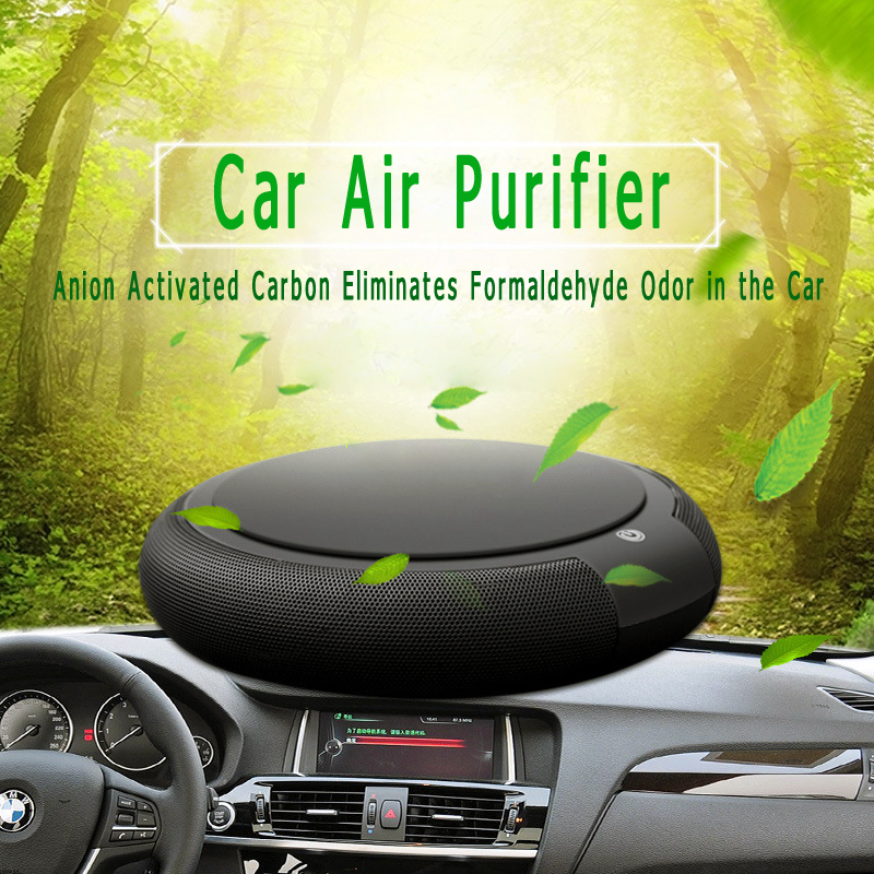 все цены на USB Car Air Purifier and Office Car Odor Negative Ion Oxygen Bar Purifier and Formaldehyde PM2.5 Air Filter Cleaner Gift