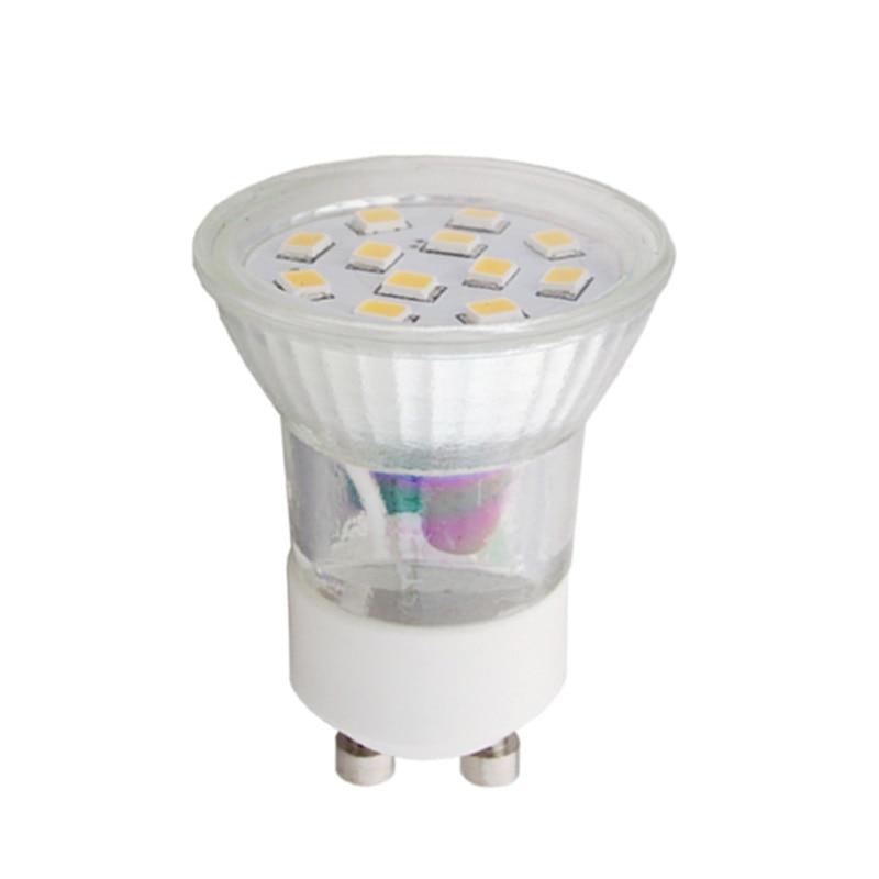 Mini GU10 35MM 2.4W AC220-240V RA80 <font><b>Warm</b></font> <font><b>White</b></font> 3000K 170lm LED <font><b>Cup</b></font> Light