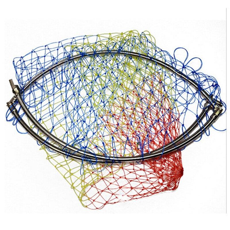 Çapı 40 cm-50 cm angler dip net renkli iniş için net net net - Balık Tutma - Fotoğraf 2