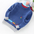 2017 High Quality New Arrival Boy Sweater Children Clothing Cars Pattern Knitted Sweater Baby Boys Pullover Sweater Knitwear