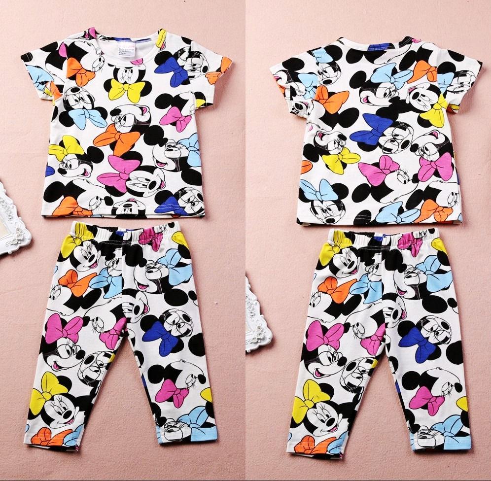 Summer Kids clothes 2pcs suits children's clothing set