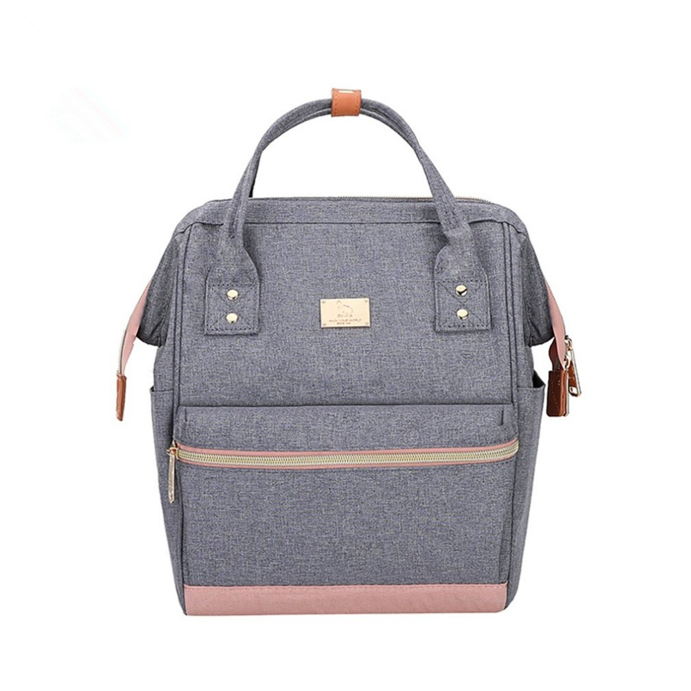 Oiwas Men Women Fashionable Small Backpack Casual Dual Use Travel School Bags Rucksack Shoulder Bag Portable oiwas fashionable design men women