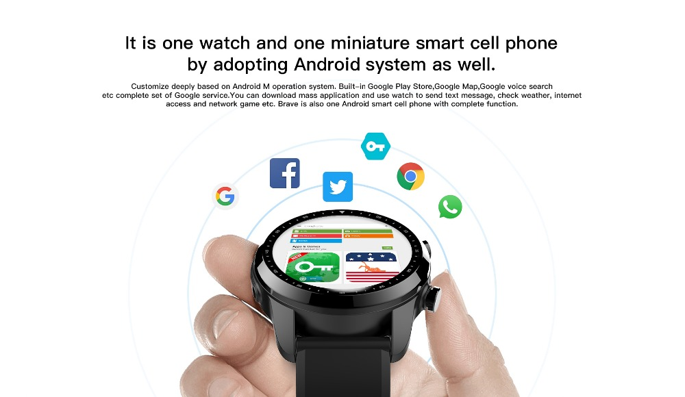 4G Nano SIM card ip68 heart rate monitor Smart Watch Android 6 2GB+16GB memory With GPS touch Screen big battery Smartwatch Men - smart-warch, men