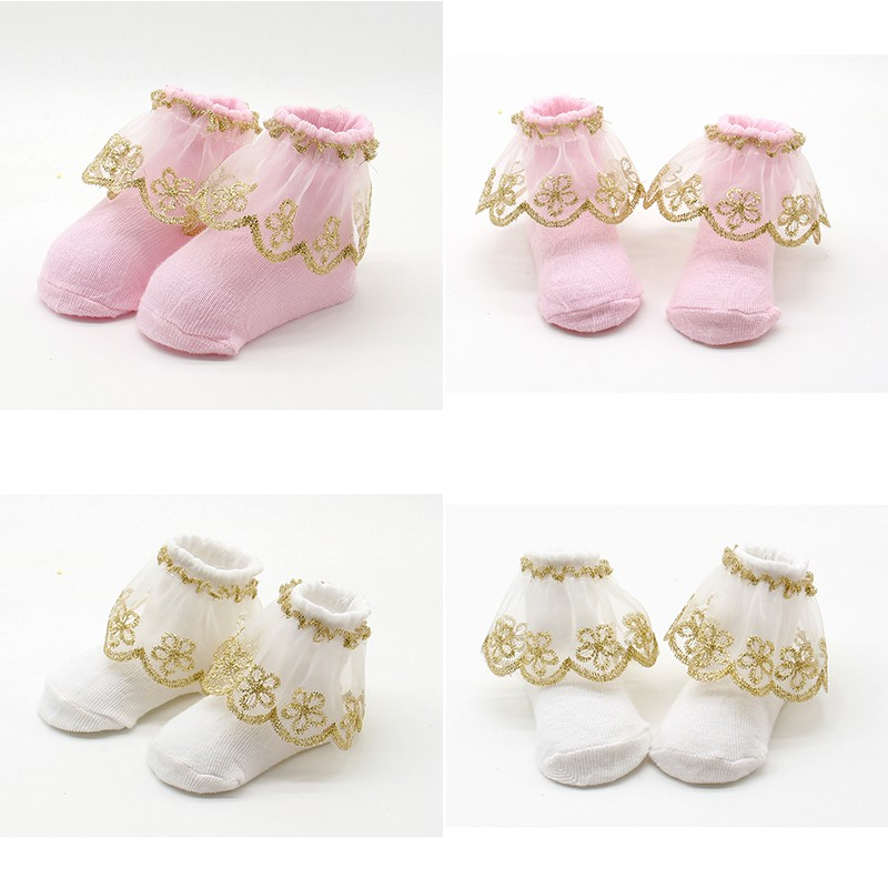 Befangen Selbstbewusst Verlegen 0-12 Mt Neugeborene Baby Kids Infant Socken Urlaub Geburtstag Geschenke Für Baby Mädchen Mesh Rüschen Socken Gehemmt Unsicher