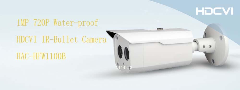 Free Shipping DAHUA CCTV Security Camera 1MP 720P HDCVI IR-Bullet Camera IP67 Without Logo HAC-HFW1100B free shipping dahua cctv security camera 1mp hdcvi ir bullet camera ip67 without logo hac hfw1100sl