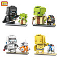LOZ Diamond Bricks Model Building Kits Stormtrooper Master Yoda BB-8 R2-D2 C-3PO Darth Vader Model DIY Blocks Toys Gift