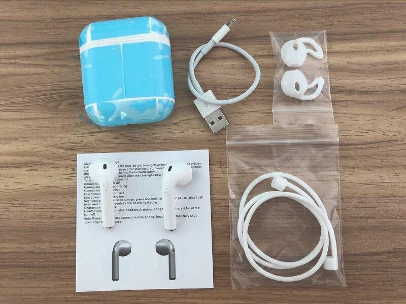 Gêmeos novos Verdadeira DER Estéreo Fones de Ouvido Sem Fio Mini Bluetooth V4.1 esportes Fone de Ouvido Para o iphone X 8 Note8 TWS Para Todos smartphones