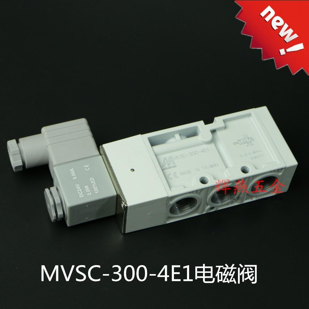 Mindman solenoid valve MVSC-300-4E1 original authentic directional valve new and original mvsc 300 4e1 dc24v ac220v mindman solenoid valve