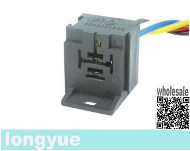 Longyue 2pcs 5p Pin Santech  A  C Relay Base Connector