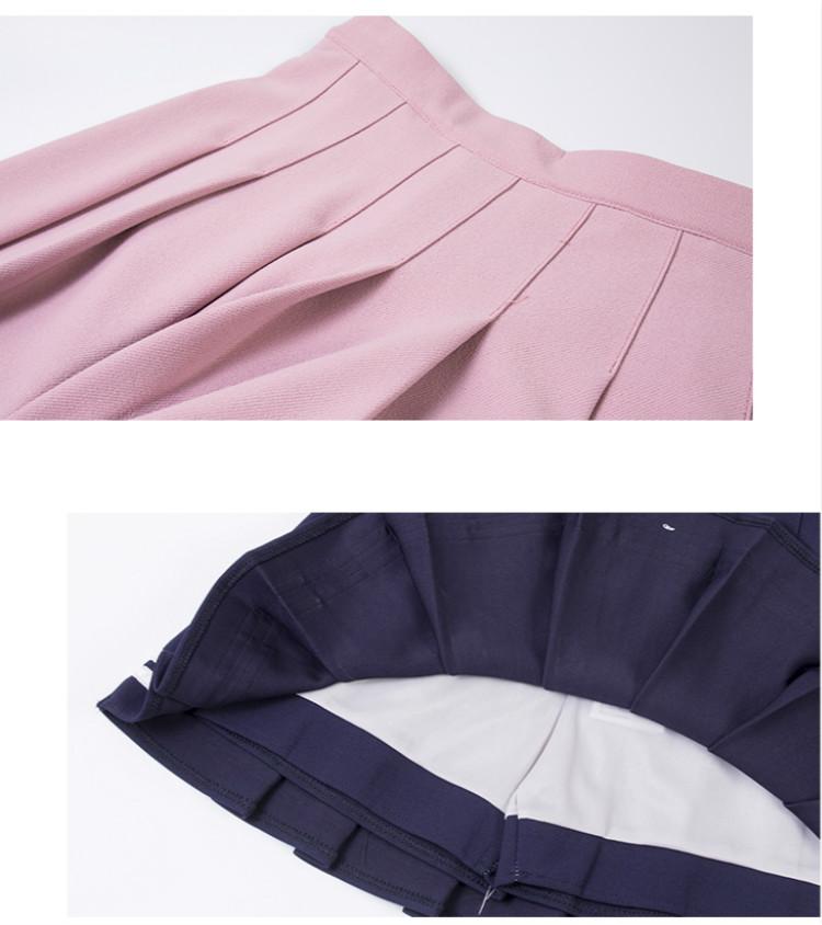 Falda de animadora estilo sailor en diferentes colores 12