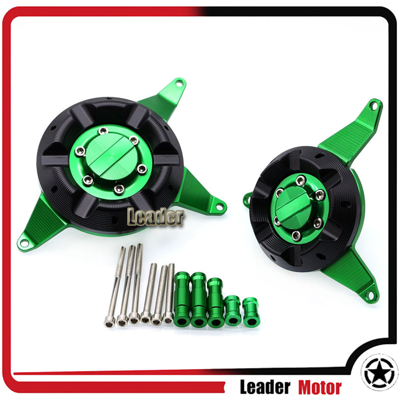 For <font><b>KAWASAKI</b></font> <font><b>Z650</b></font> Z 650 2017-2019 Motorcycle Accessories Engine Stator Cover Engine Protective Cover <font><b>Frame</b></font> <font><b>Slider</b></font> Protector image