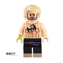 1PCS model building blocks action figures starwars superheroes IRON FIST Danny Rand Defenders Marvel diy toys for children gift(China)