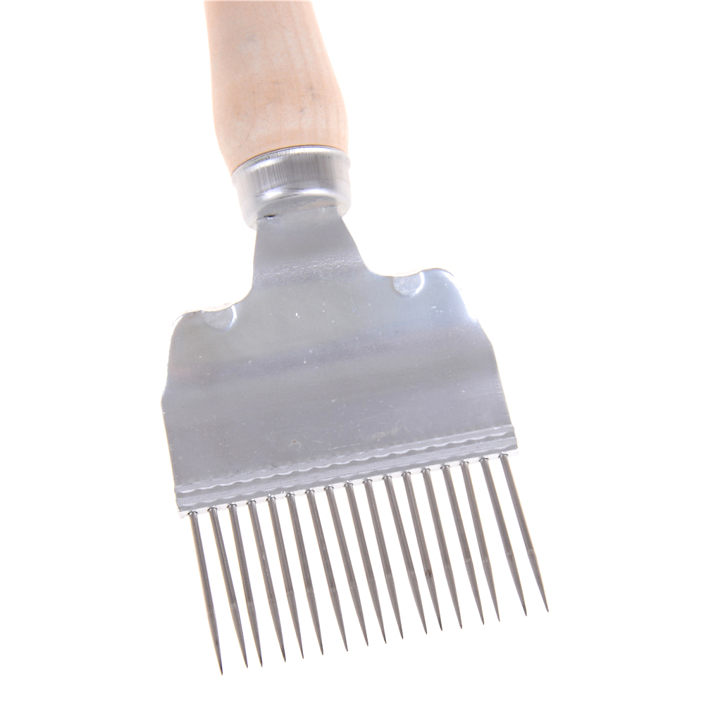 Bee Keeping Beekeeping Honey Stainless Steel Tine Uncapping Fork Scratcher