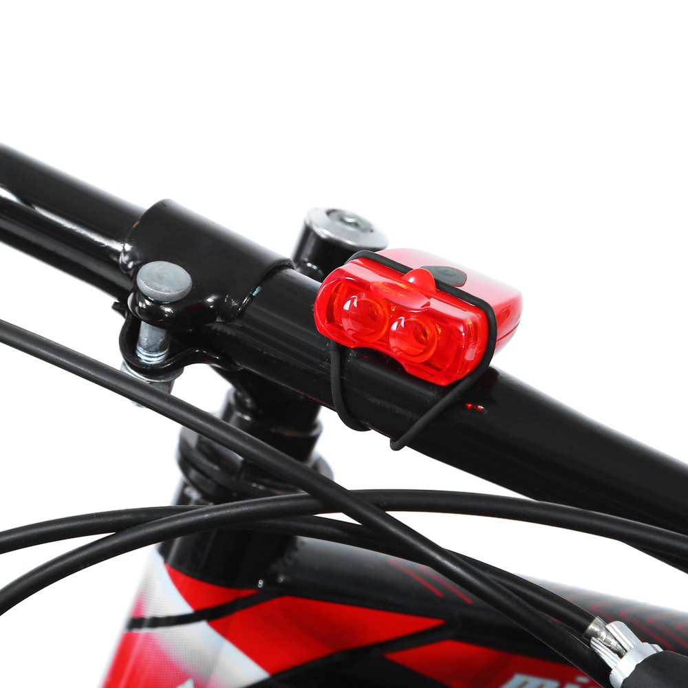Waterproof LED Safety Warning Lamp For Bicycle Ultra-light USB Charging Strap