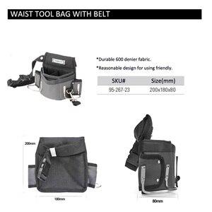 Image 5 - スタンレー大工工具ウエストバッグ収納ハンマーホルダーバッグ作業ポケットガジェットユーティリティポーチ調節可能なベルト電気技師