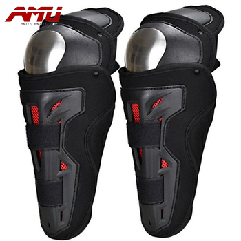 Authentic AMU Stainless Steel Motorcycle Electric Car Riding Protection Leggings Enhanced P17