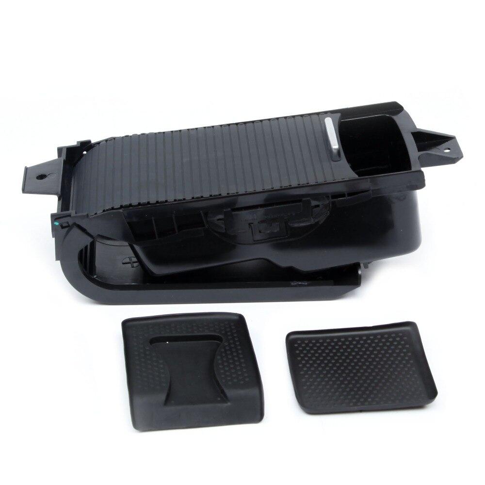 KEOGHS OEM 1K0 862 531 A Plastic Black Center Armrest Cup Holder Assembly For VW Eos Golf Variant MK5 6 Jetta Scirocco