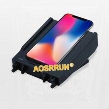 נייד טלפון QI טעינה אלחוטי Pad מודול רכב אביזרי עבור מרצדס בנץ W205 C180 C200 GLC 260 200 C כיתת