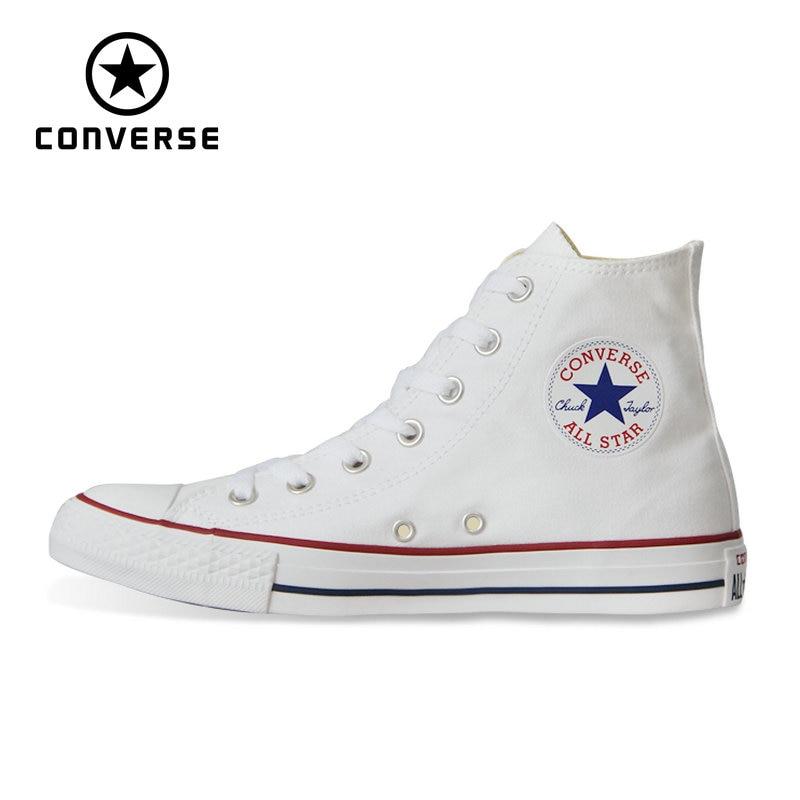 Nouvelle D'origine Converse all star chaussures Chuck Taylor homme et femmes unisexe haute classique sneakers Planche À Roulettes Chaussures 101013