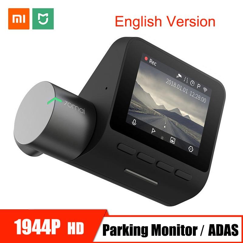 Xiaomi 70mai Pro Traço Cam Wi-fi Câmera Do Carro DVR HD 1944 P Night Vision G-sensor 24 H Estacionamento monitor de 140 Grande Angular Gravador de Vídeo