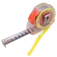 1 pcs Tape Measures 5m Measuring Gauging Tools Plastic Shell Stainless Steel Ruler Tools Measurement Analysis