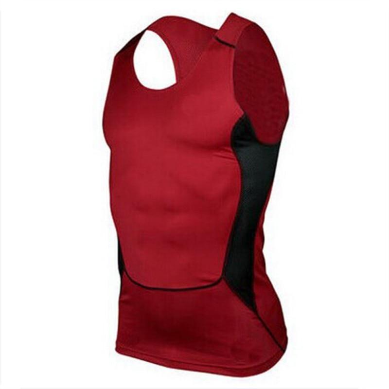 2018 Mens Compression Tight Tee Shirt Bodybuilding Fitness Men\'s Stringer Vest Top Shirts Tank Tops