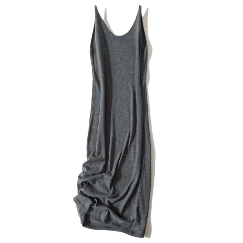 LHZSYY 19 Spring New Women 39 s Knit Long Camisole Female inside the Bottoming shirt shirt sexy Summer pajamas wearing a Long Skirt in Camis from Women 39 s Clothing