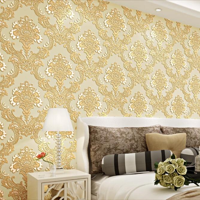 Wallpaper House Beautiful: Fashion Beautiful Wallpaper Wall Covering Attractive