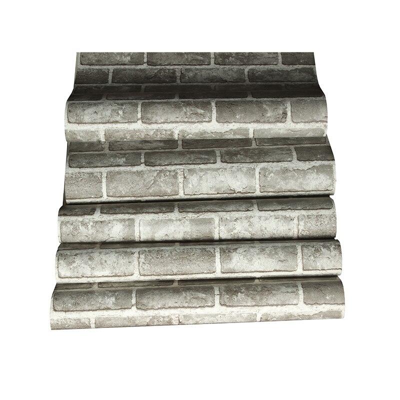 Купить с кэшбэком Rushed Papel De Parede Papel Pintado Paysota Chinese Style Imitation Brick Pattern Bedroom Tv Sofa Background Wall Paper