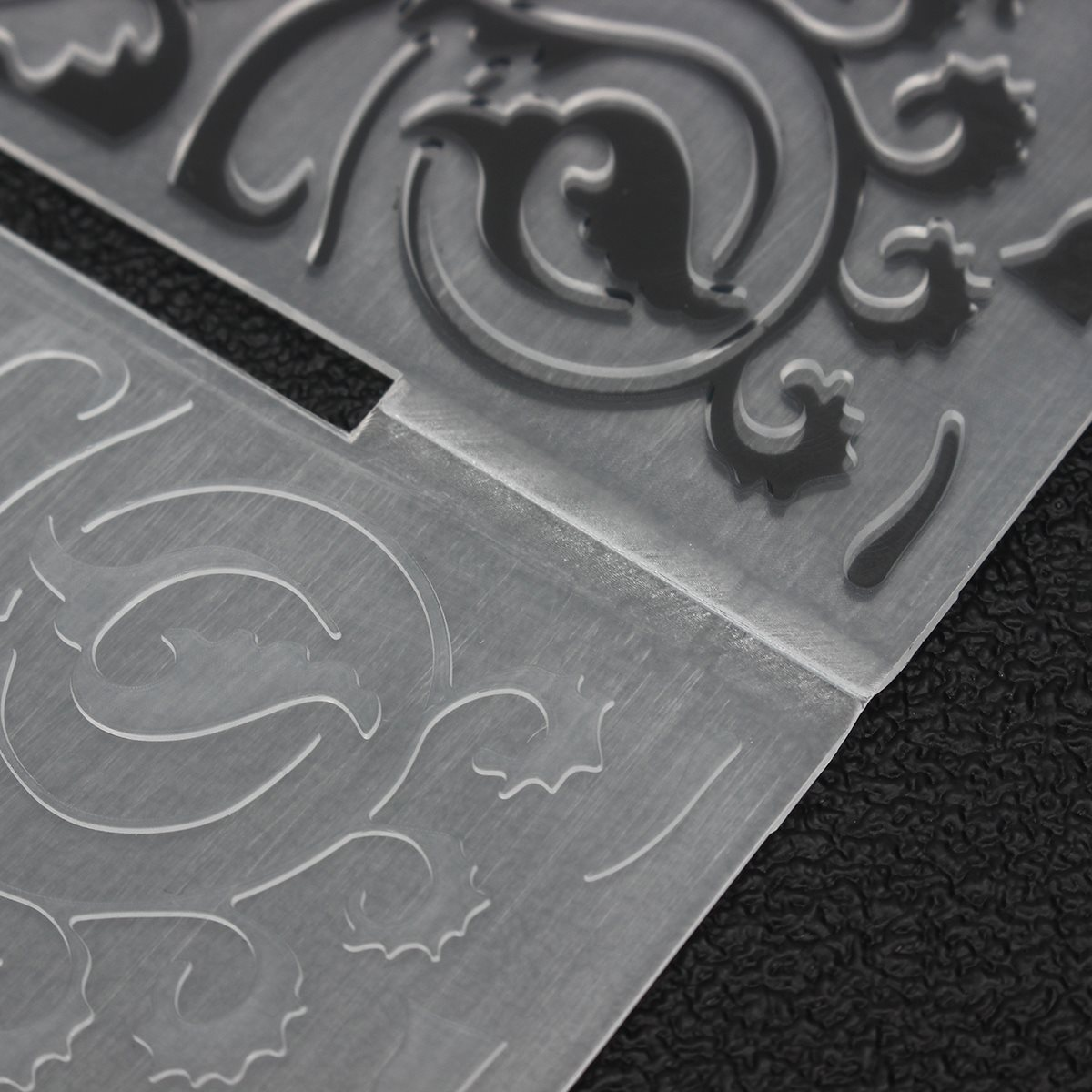 Cake Stencil Biscuit Plastic Embossing Folder DIY Mold Scrapbooking ...