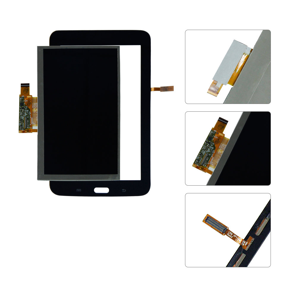 For Samsung Galaxy Tab 3 7.0 SM T110 T110 LCD Display Touch Screen Digitizer Assembly Replacement