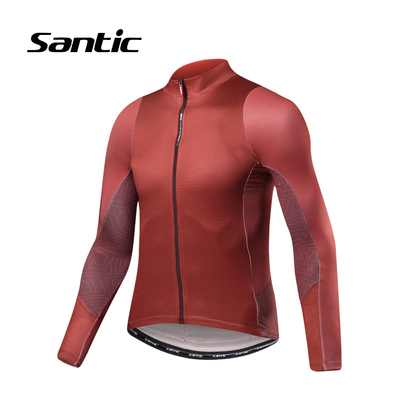 Santic Cycling Jersey Men 2018 New Summer Long Sleeve Pro Mountain Road Bike Jersey Maillot Ciclismo Racing Team Bicycle Jerseys 2017 spring summer cycling jersey women long sleeve mountain biking jerseys shirt outdoor sports clothing ropa ciclismo santic