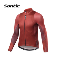 Santic Cycling Jersey Men 2019 Summer Long Sleeve Pro Mountain Road Bike Jersey Tops Maillot Ciclismo Racing Team Bicycle Jersey