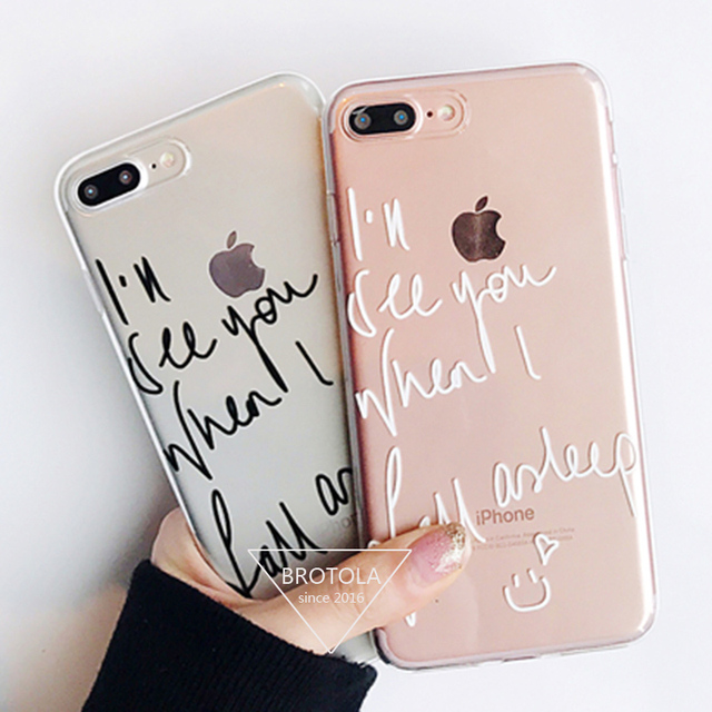 carcasa iphone 7 letras