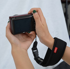 Nylon Portable Waterproof Non-slip Hand Grip Wrist Band Strap for SLR DSLR Camera Portable Hand Grip for SLR DSLR Camera