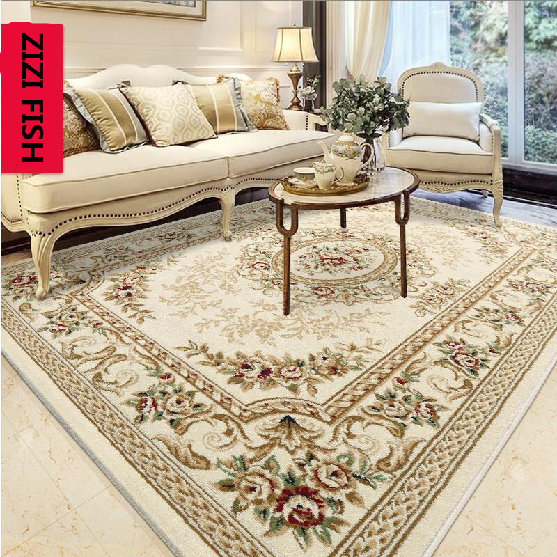 ZIZI FISH Fashion Anti Skid Jacquard Carpet For Living