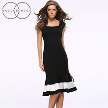 Women's Tunic dresses Office Dress of large sizes Summer Women Vestido Tunic tunique femme dress Plus Size striped Party Dresses