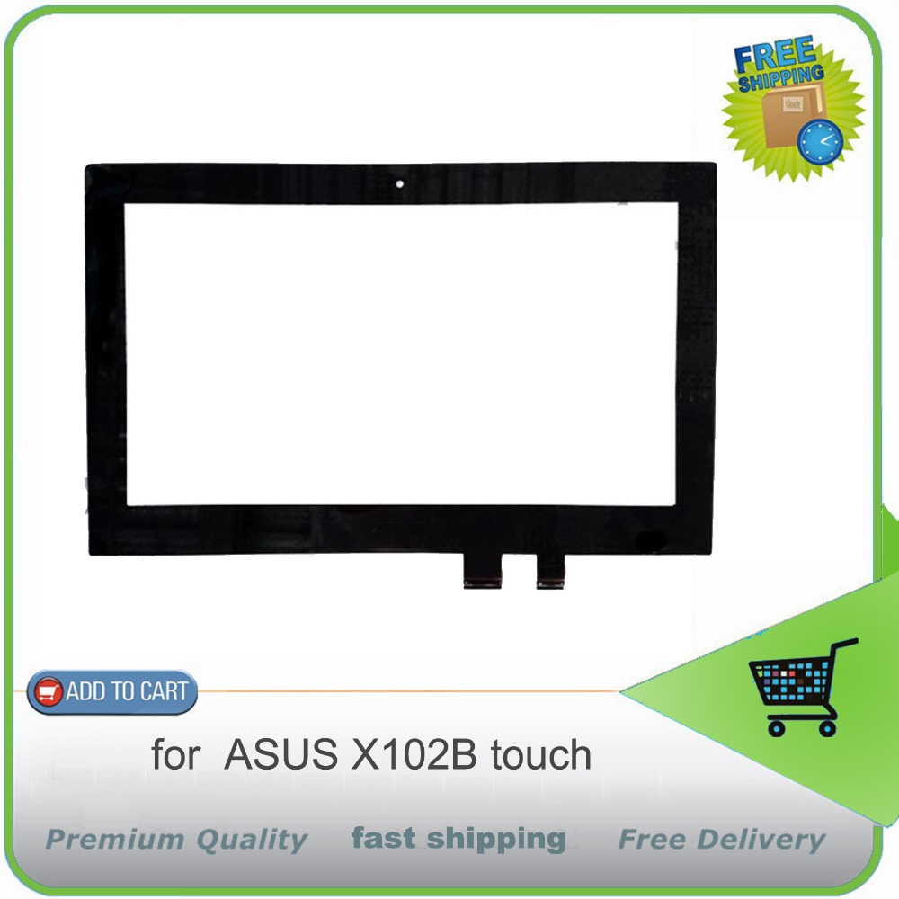 New Sensor Glass Panel Touch Screen Digitizer For ASUS X102B Table PC Repair Replacement Parts Free shipping touch screen glass panel for mt508tv 5wv repair new