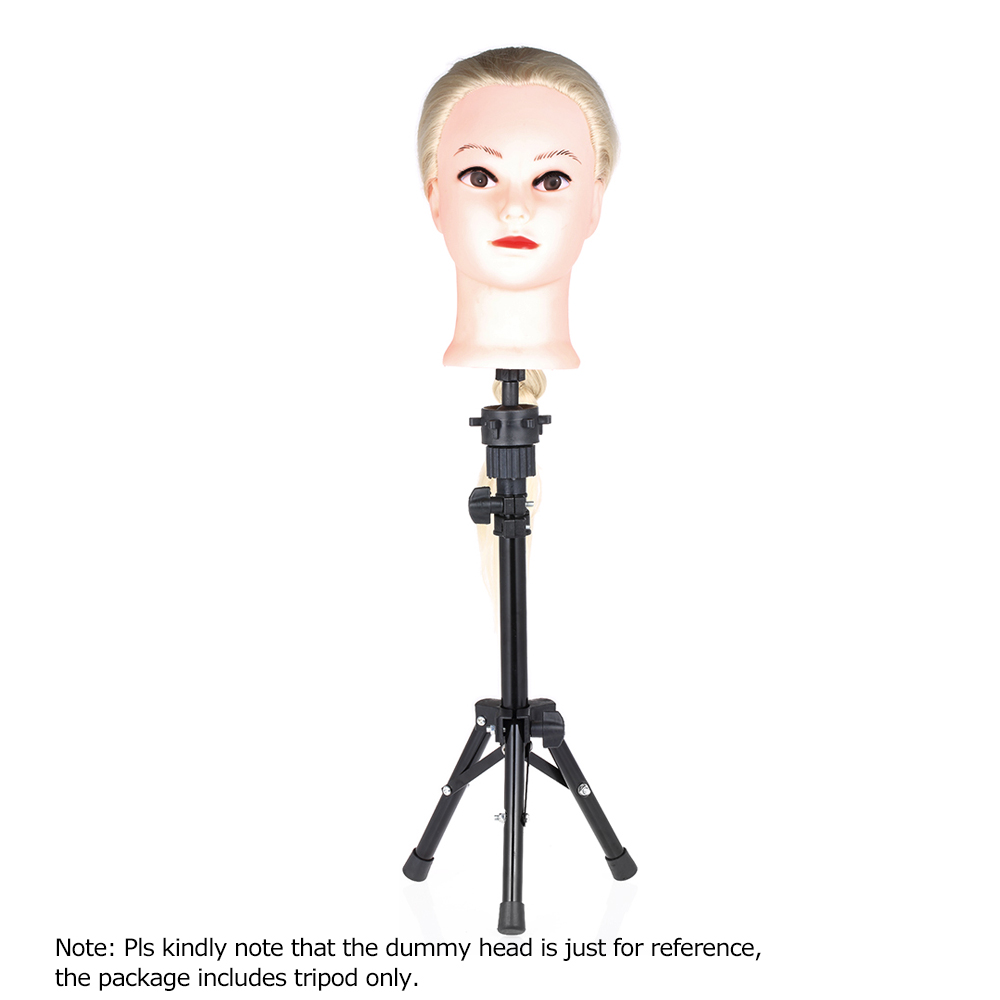 Hair Extensions & Wigs Responsible Professional Headform Stent Prosthesis Doll Head Holder Hair Model Head Tripod Bracket Barber Accessories Hair Styling Tool Wig Stands