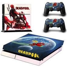 PS4 Marvel Deadpool PS4 Skin Sticker