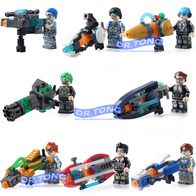 DR.TONG 80pcs/lot Military Bricks Fighter Military Personnel Commando Special Forces Weapons Building Blocks ToysDR.TONG 80pcs/lot Military Bricks Fighter Military Personnel Commando Special Forces Weapons Building Blocks Toys