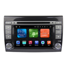 Android 7.1 Car DVD Player For Fiat Bravo 2007 2008 2009 2010 2011 2012 2013 car radio GPS stereo with bluetooth wifi 2G RAM