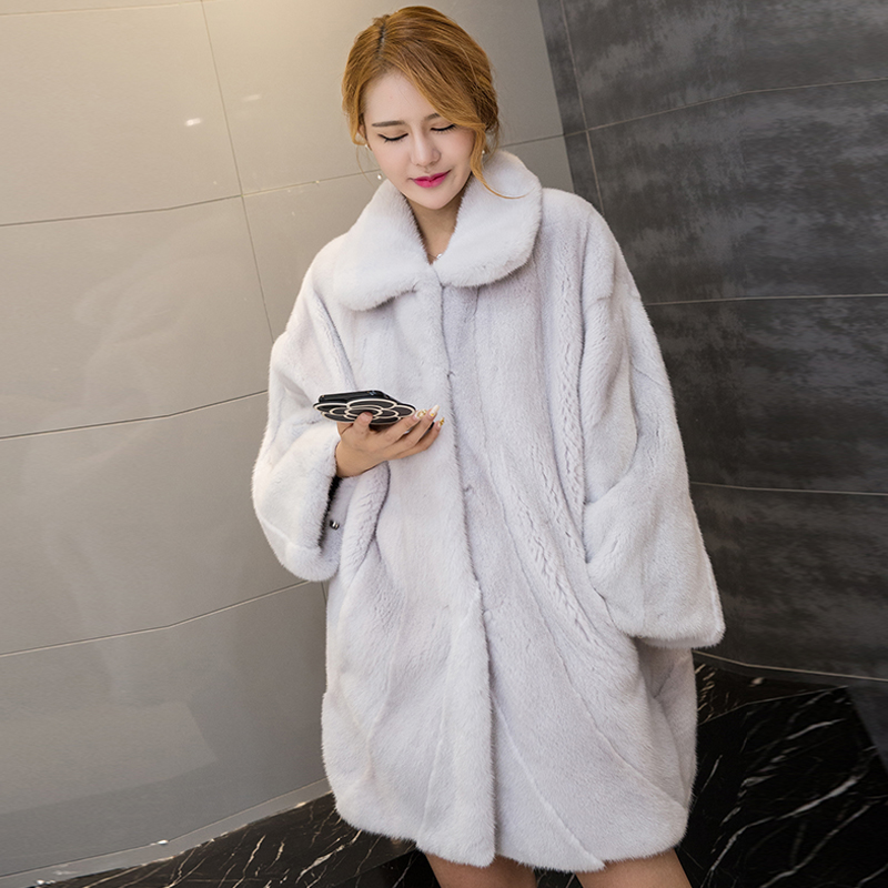 Popular Mink White Coat-Buy Cheap Mink White Coat lots from China ...