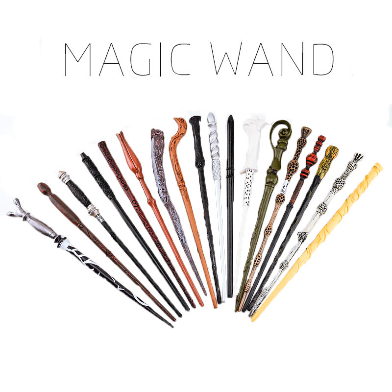 Qualidade Original Núcleo de Metal Harry Potter Dumbledore Wand Deluxe Velho Varinha De Brinquedo Mágico da Vara Embalagem Da Caixa de Presente Para Crianças
